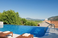 Camelia House – Three bedroom villa with sea view and private pool